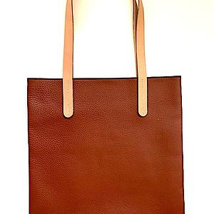 Fair Trade Leather Tote